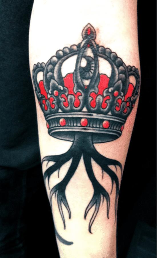 Beautiful-Crown-Tattoo