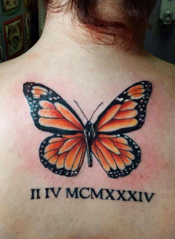 butterfly-roman-numeral-tattoos