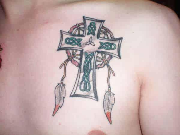celtic cross tattoo