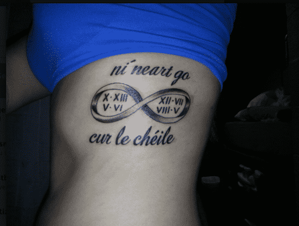 infinity-roman-numerals-tattoos