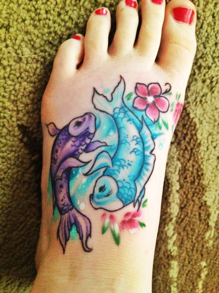 pisces tattoo designs