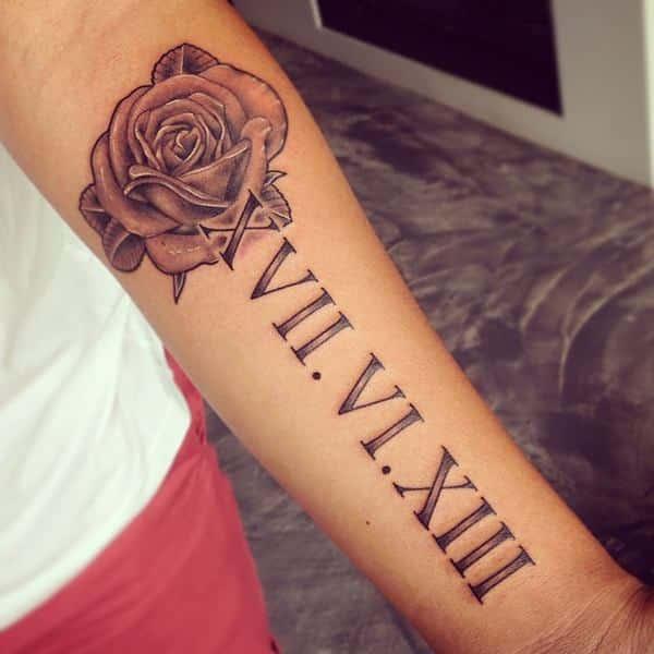 roman-numeral-arm-tattoo