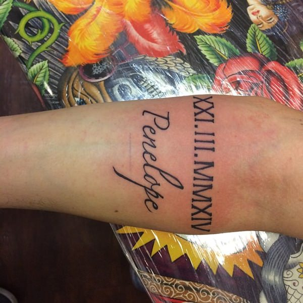 tattoos-with-roman-numerals