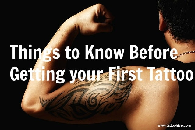 tips to get your first tattoo