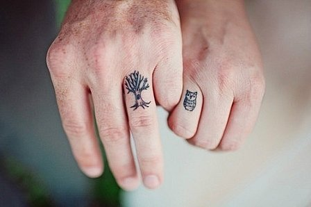 Owl-Tree-matching-Tattoos