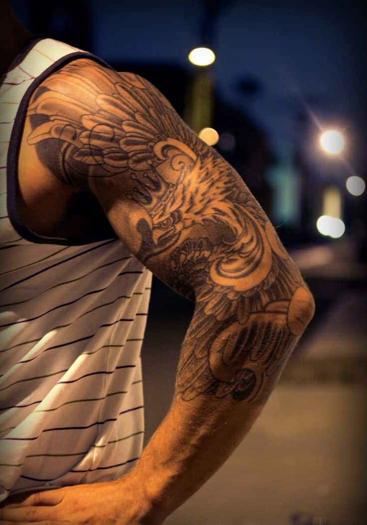 Polish-eagle-tattoo-sleeve