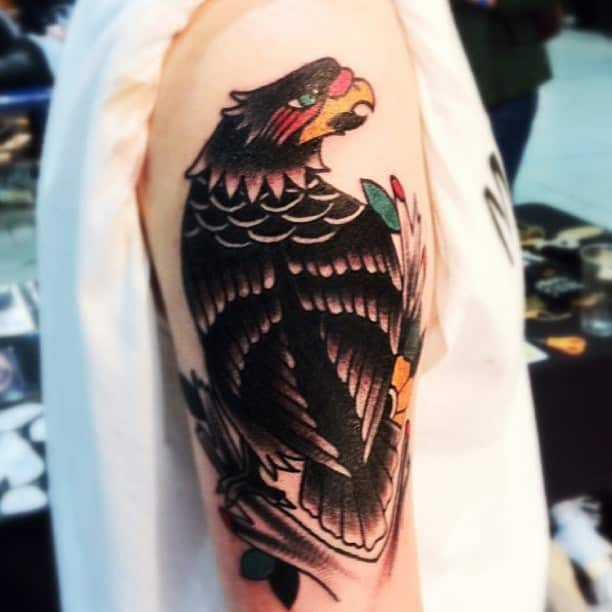 cool-eagle-tattoo-for -men