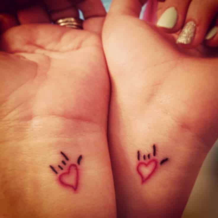 matching tattoo for couple 2016