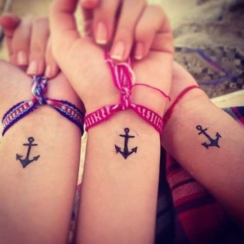 matching tattoo for men and women