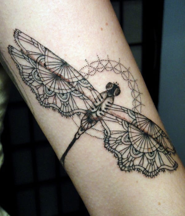 dragonfly-tattoo for females