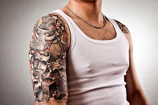 images of arm tattoos men