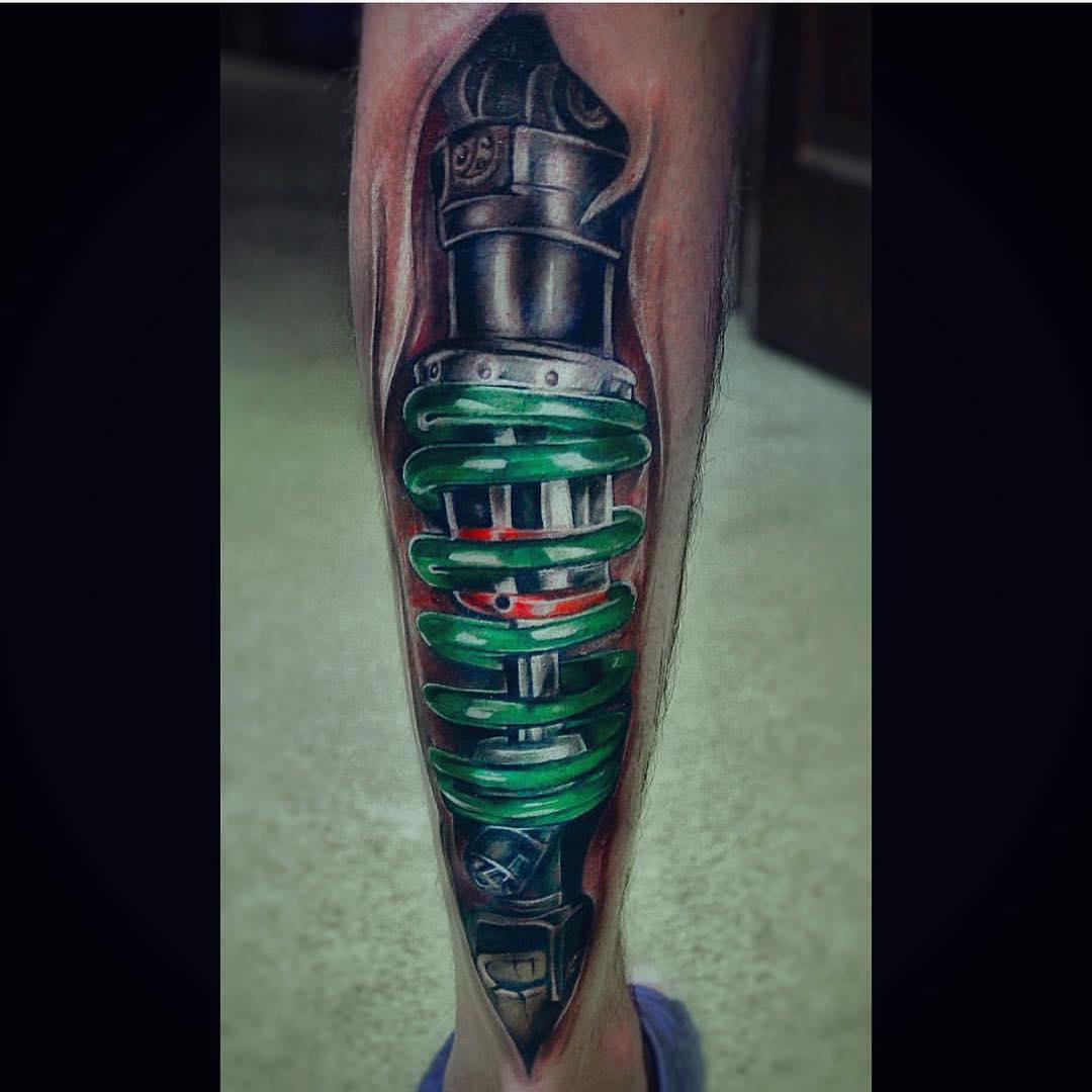 Calf-Spring-Biomechanical-Tattoo