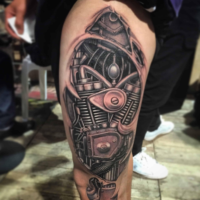 biomech tattoos