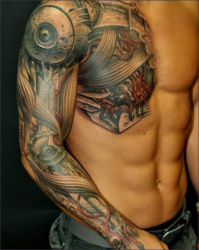 biomechanical-tattoos-arm