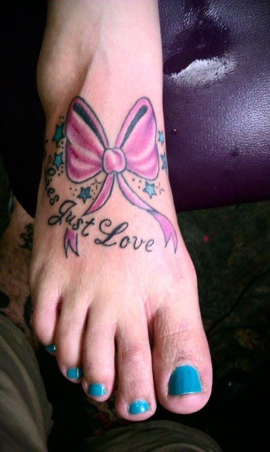 breast cancer tattoos for females