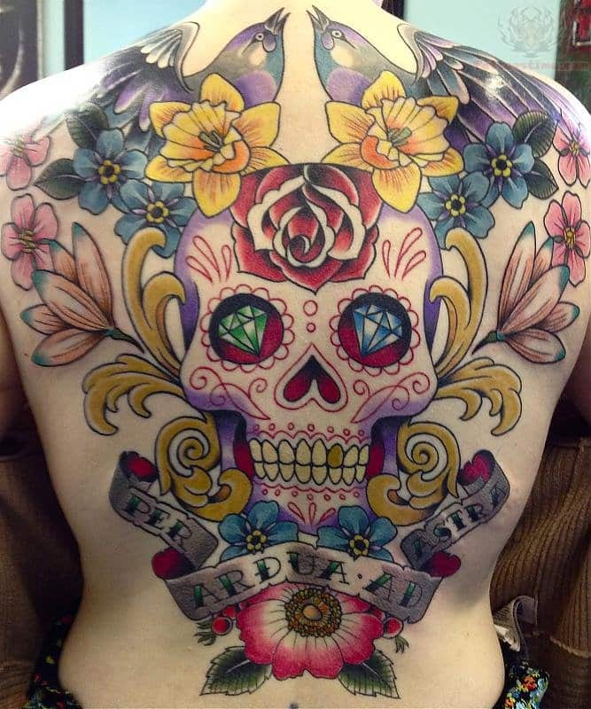 Sugar-Skull-Tattoo-Top-design
