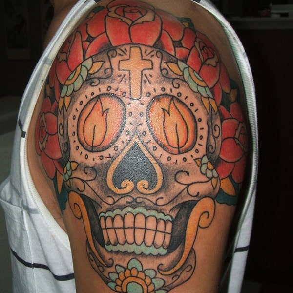 sugar-skull-tattoos