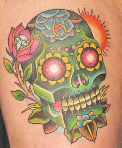 sugar-skull-tattoos-design