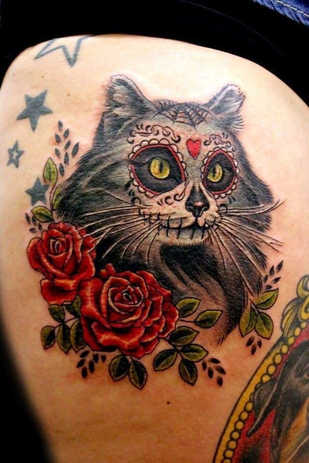 tattoo sugar skull pictures