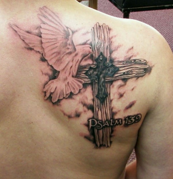 Dove Cross Christians tattoos