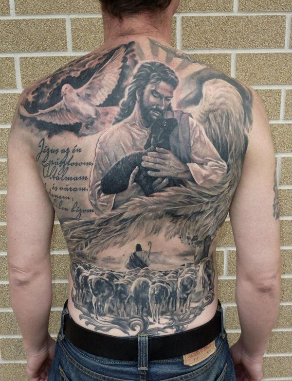 christian tattoos designs