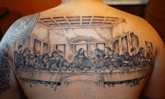 The-Last-Supper-christian-tattoo