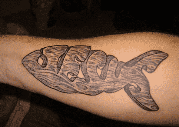 fish religious christian tattoos