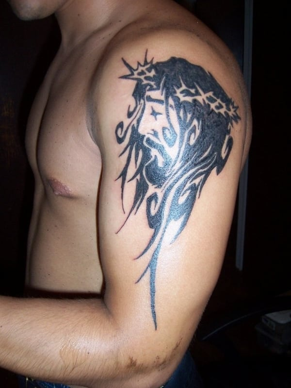 jesus-christ-stylish-tattoo