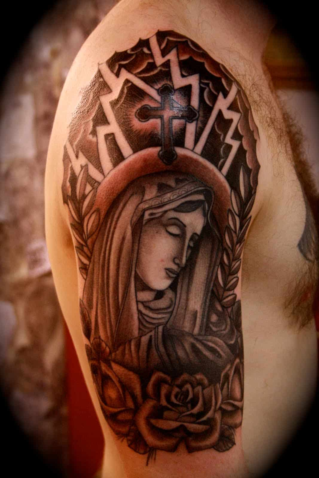 religious-half-sleeve-tattoos