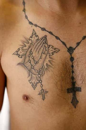 rosary_tattoos for men