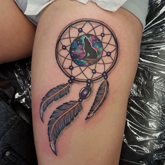Dream catcher-Tattoos-Awesome-Design