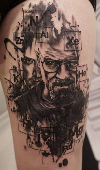 badass breaking bad tattoos
