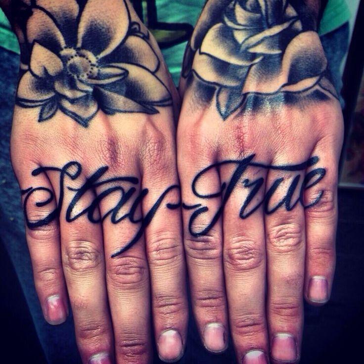 badass hands tattoos