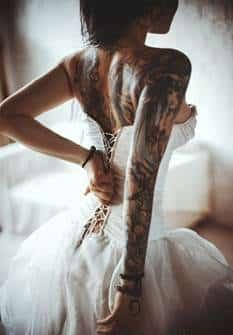badass tattoos for women