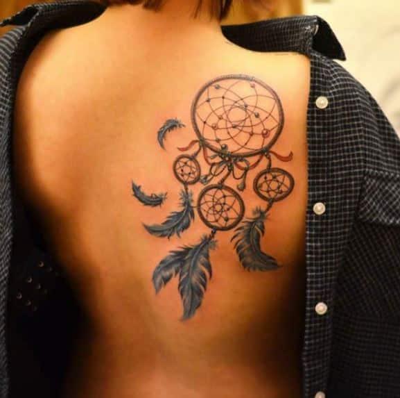 beautiful-dreamcatcher-tattoo