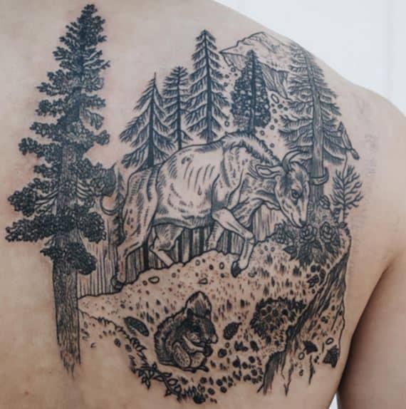bull badass-tattoo