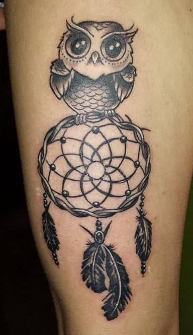 dream catcher-tattoo-designs