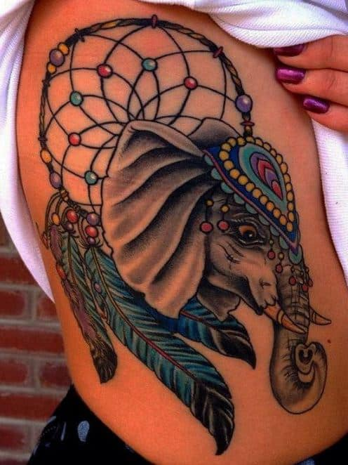 dreamcatcher-tattoo-designs pictures