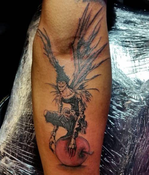 evil badass tattoo
