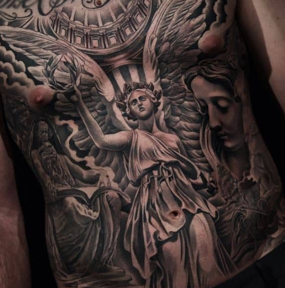 greek badass tattoos