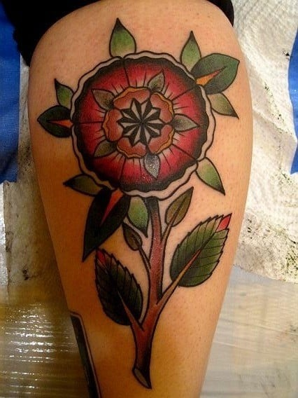 mandalas tattoo flower life floral design petals spiritual hippy