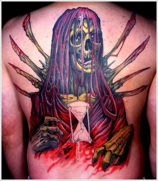 top grim reaper tattoo designs