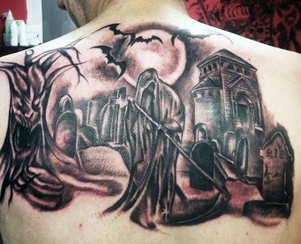 grim reaper tattoo ideas