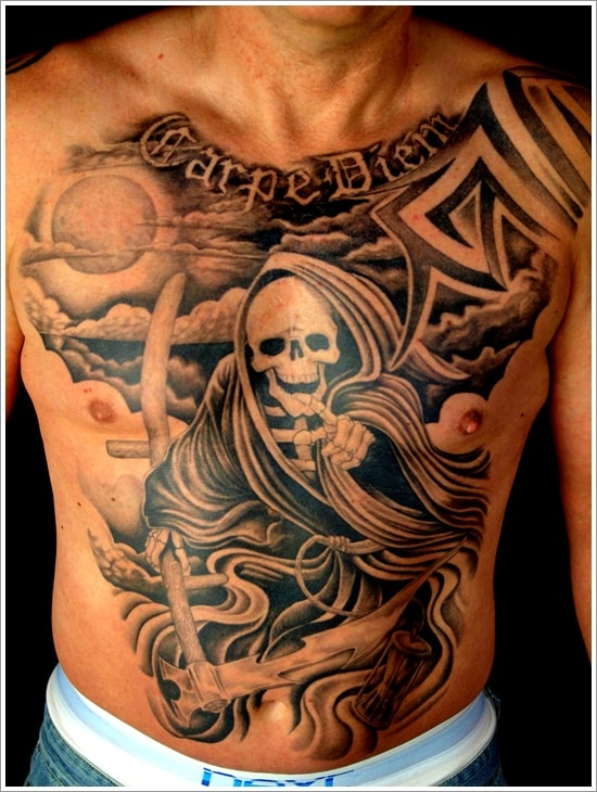 grim reaper tattoo ideas