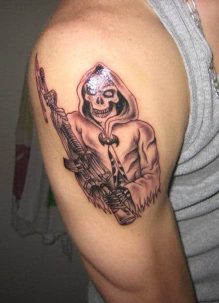 tattoos of the grim reaper