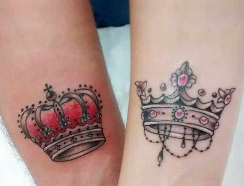 Awesome king Crown Tattoo