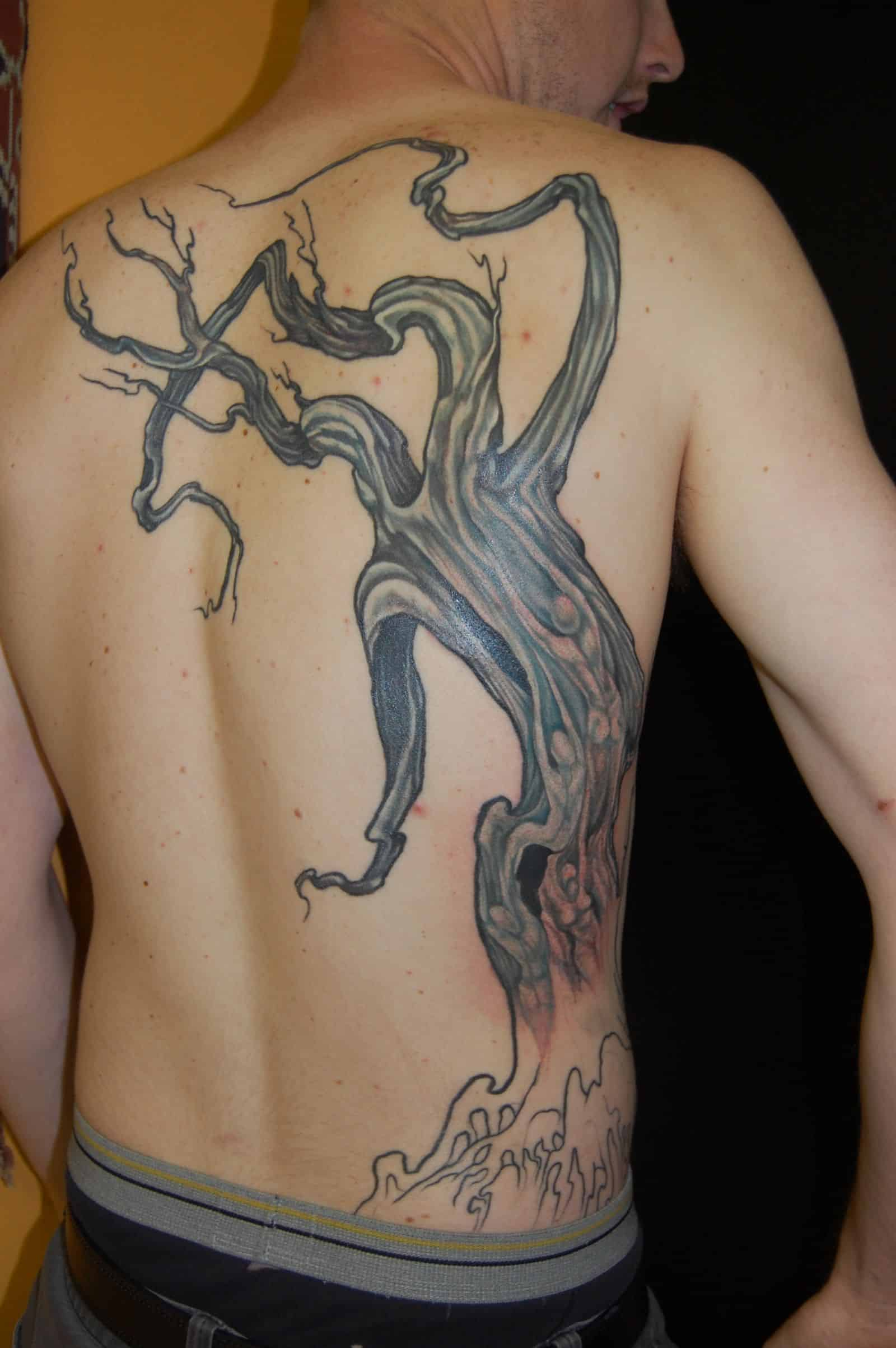 The Giving Tree Tattoo