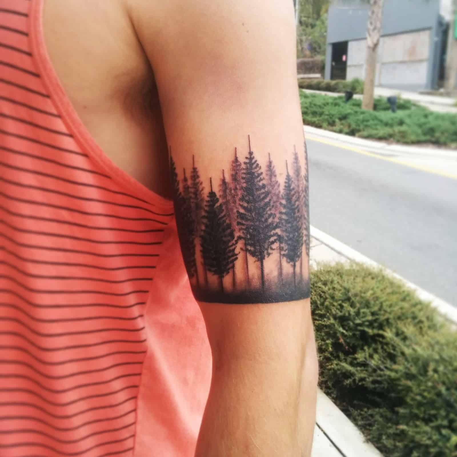 Euphoria Tree Tattoo