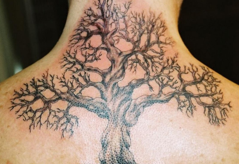 30 Awesome Dead Tree Tattoo Designs To Try Right Now