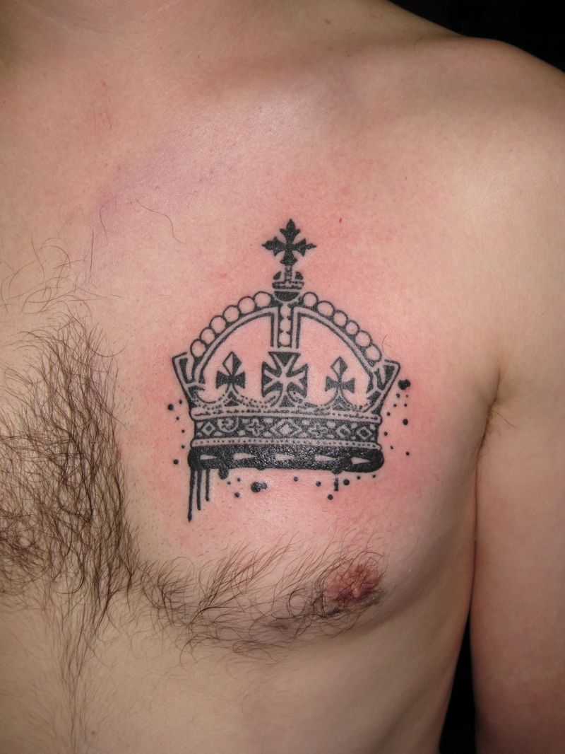 new king Crown Tattoos